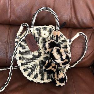 Handbags - Moon water co crossbody with Pom